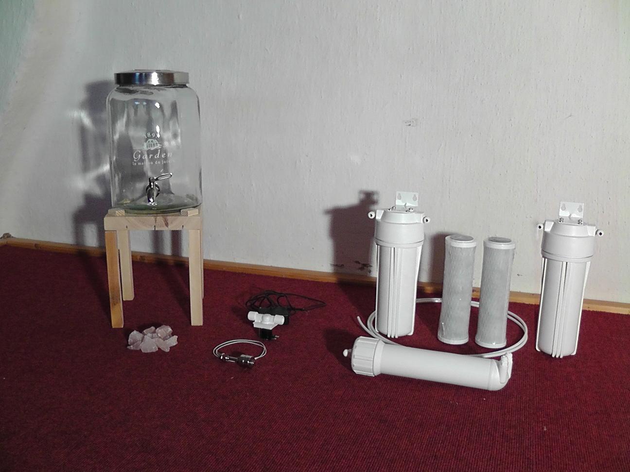 einen wasserfilter selber bauen prototyp teil 1 lebendiges trinkwasser. Black Bedroom Furniture Sets. Home Design Ideas
