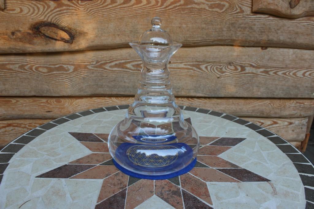 Wasserbelebung mit der Karaffe Alladin