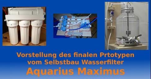 Vorstellung Aquarius Maximus