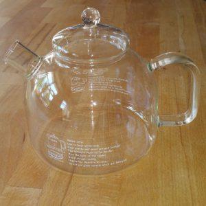 Teekessel aus Glas