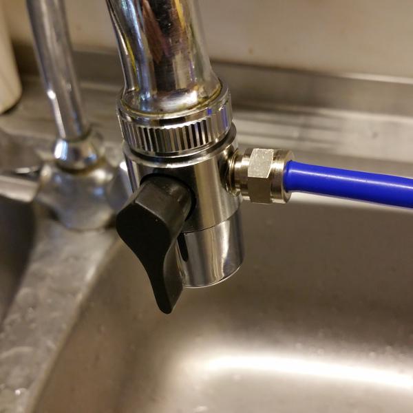 Wasseranschluss Umkehrosmoseanlage