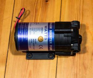 Druckerhöhungspumpe für Osmoseanlagen