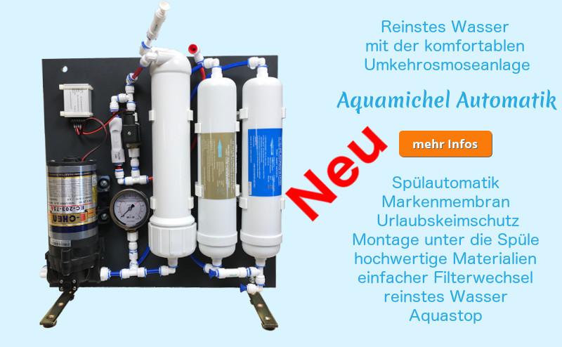 Aquamichel Automatik Info neu