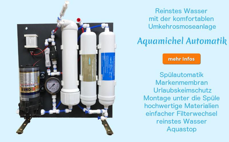 aquamichel automatik info lebendiges trinkwasser. Black Bedroom Furniture Sets. Home Design Ideas